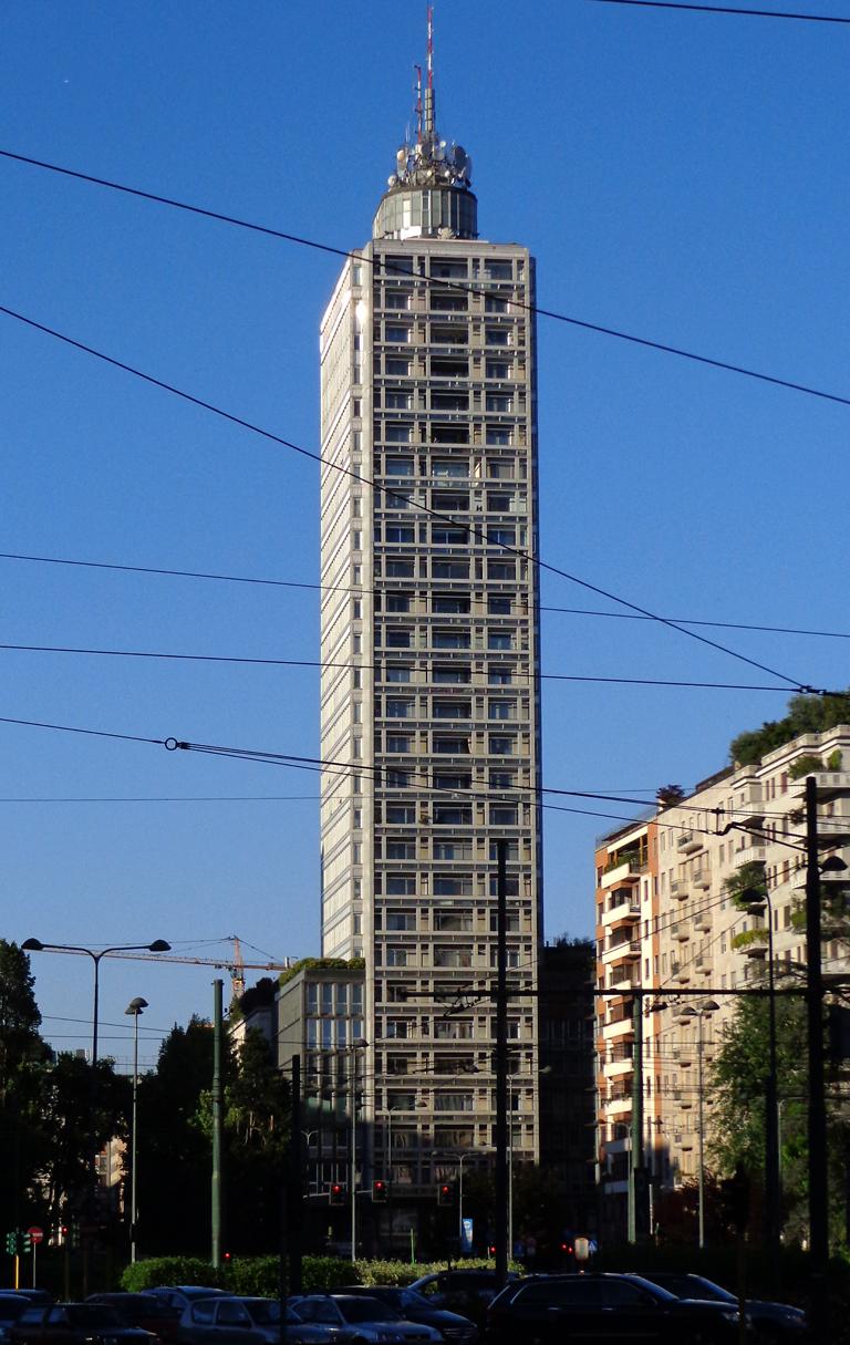 """""""Torre Breda"""" Skyscraper in Piazza della Repubblica 1 (Milan)"""