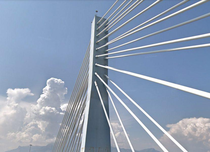 ponte strallato fiume garigliano comune sessa aurunca caserta