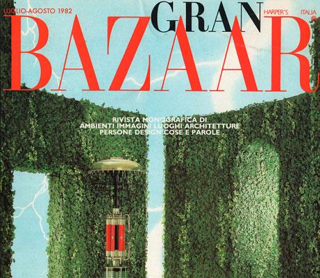 copertina su Gran Bazaar